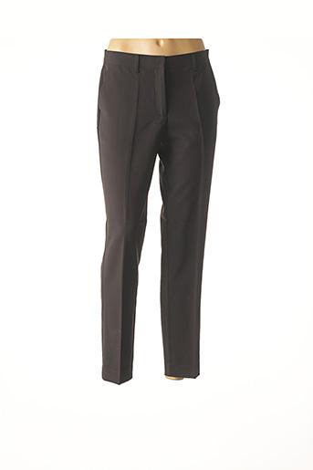 Pantalon 7/8 noir ICHI pour femme