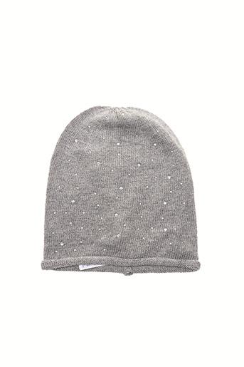 Bonnet gris ONLY pour femme