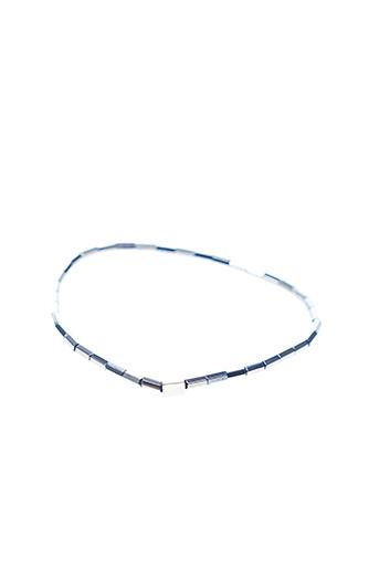 Bracelet jaune ZAG pour femme