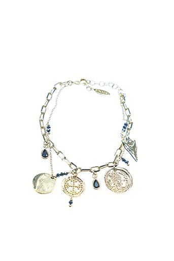 Bracelet noir HIPANEMA pour femme
