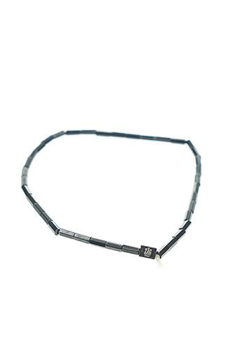 Bracelet noir ZAG pour femme