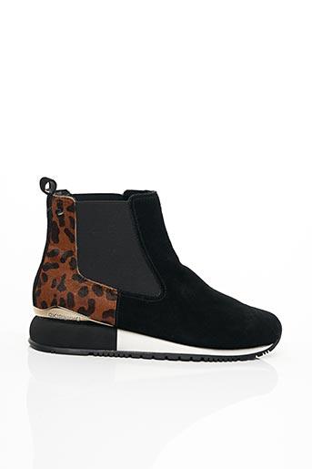 Bottines/Boots noir GIOSEPPO pour femme