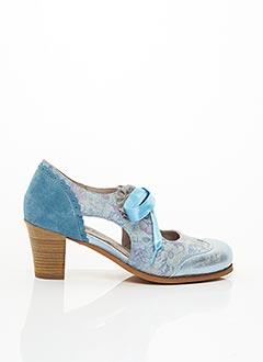 Escarpins bleu DKODE pour femme