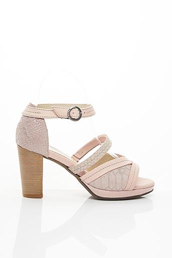 Sandales/Nu pieds rose DKODE pour femme