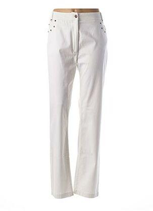 Pantalon casual blanc EPICEA pour femme