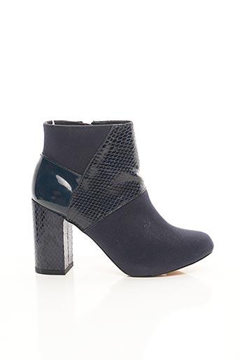 Bottines/Boots bleu MARIAMARE pour femme