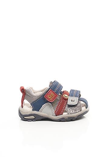 Sandales/Nu pieds bleu BOPY pour garçon