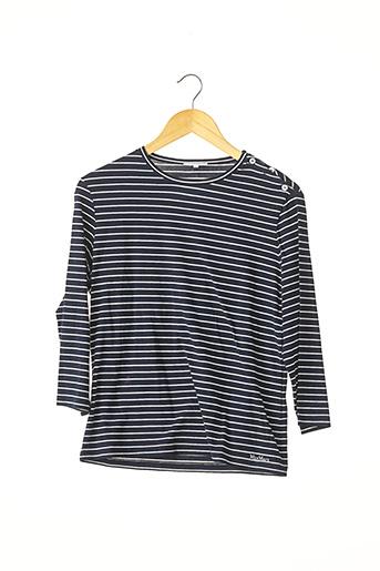 T-shirt manches longues bleu MAXMARA pour femme