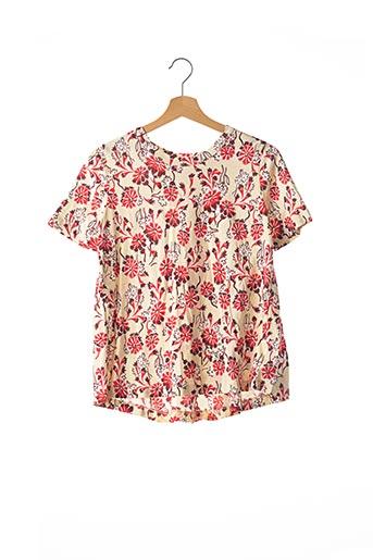 T-shirt manches courtes rouge MARNI pour femme