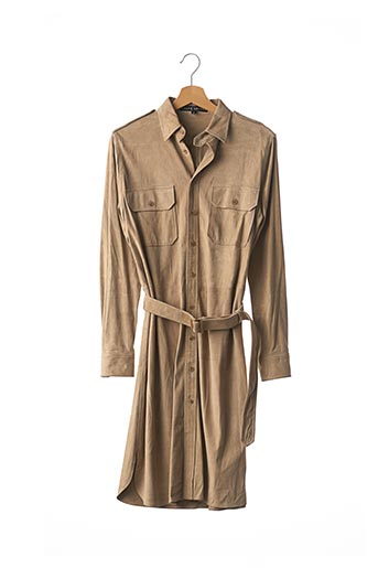 Robe mi-longue beige RALPH LAUREN pour femme