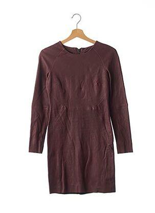 Robe courte violet AMERICAN RETRO pour femme