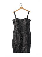 Robe mi-longue noir ZAPA pour femme seconde vue