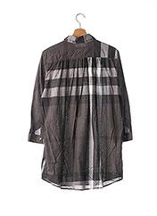 Tunique manches longues gris BURBERRY pour femme seconde vue