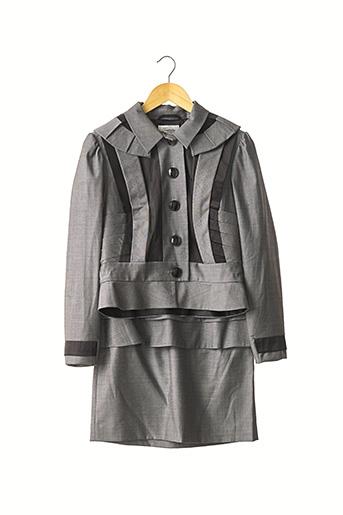 Veste/jupe gris TEMPERLEY pour femme