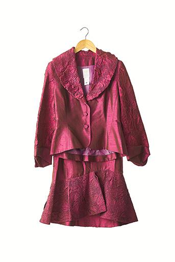 Veste/jupe rouge PAULE VASSEUR pour femme