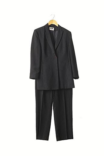 Veste/pantalon noir EXALTATION pour femme