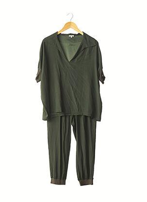 Top/pantalon vert P.A.R.O.S.H. pour femme