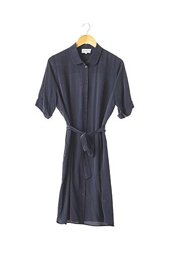 Robe mi-longue bleu ERIC BOMPARD pour femme