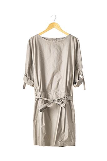 Robe mi-longue gris PAUL & JOE pour femme