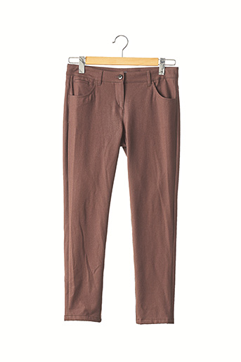 Pantalon 7/8 marron BRUNELLO CUCINELLI pour femme