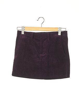Mini-jupe violet RALPH LAUREN pour femme