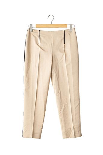Pantalon 7/8 beige PRADA pour femme