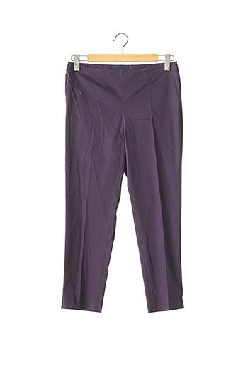 Pantalon 7/8 bleu BLUE LES COPAINS pour femme