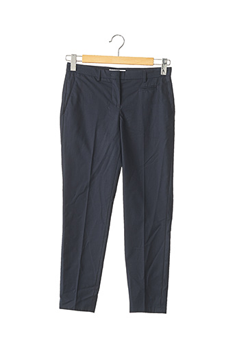 Pantalon 7/8 bleu FABIANA FILIPPI pour femme