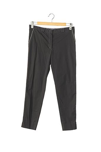 Pantalon 7/8 noir FABIANA FILIPPI pour femme