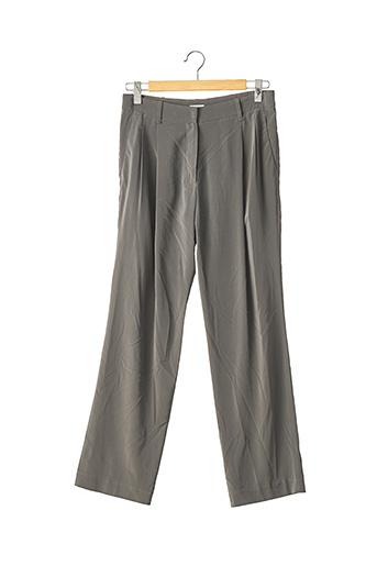 Pantalon chic gris BRUNELLO CUCINELLI pour femme