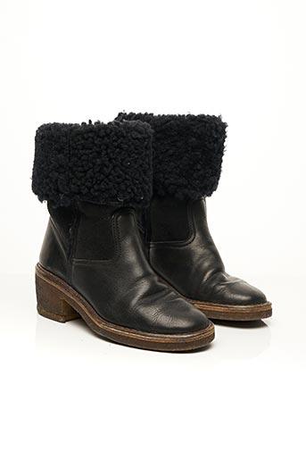 Bottines/Boots noir CLAIE pour femme