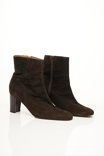 Bottines/Boots orange EFFEMODA pour femme