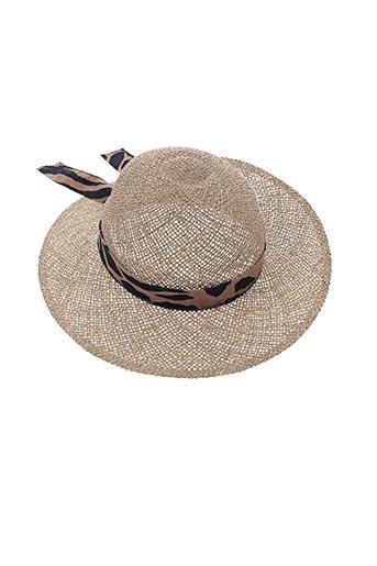 Chapeau beige FRAGONARD pour femme