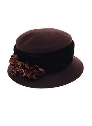Chapeau rouge MARZI pour femme