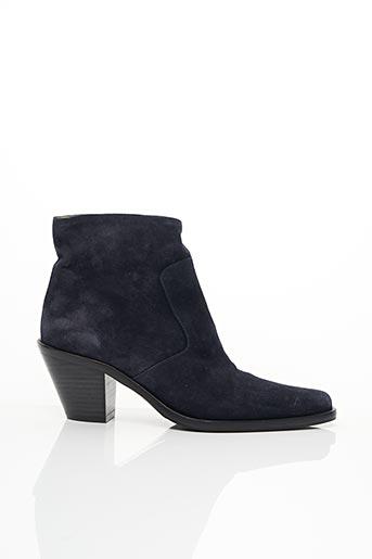 Bottines/Boots bleu FREE LANCE pour femme