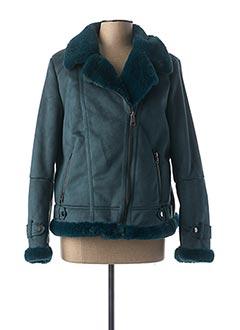 Manteau court vert LE PETIT BAIGNEUR pour femme