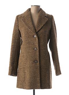 Manteau long beige BULTÉ pour femme
