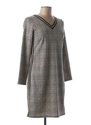Robe mi-longue noir MERI & ESCA pour femme