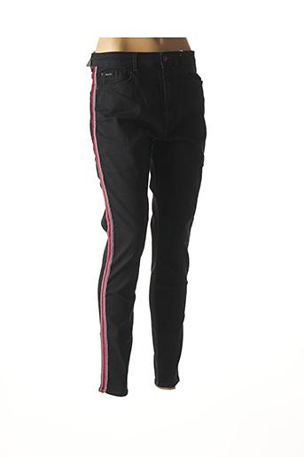 Jeans skinny noir KANOPE pour femme