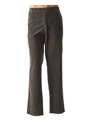 Pantalon casual gris PETER COFOX pour homme