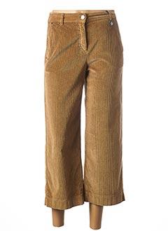 Pantalon 7/8 marron PENNYBLACK pour femme