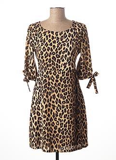 Robe mi-longue beige LIU JO pour femme