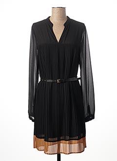 Robe mi-longue noir LIU JO pour femme