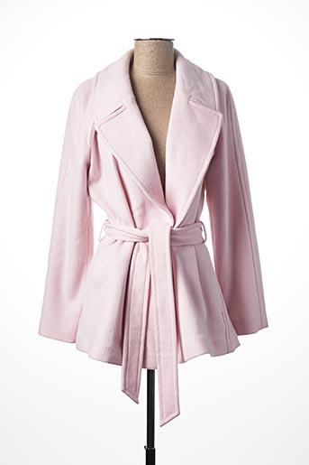 Manteau long rose GANT pour femme