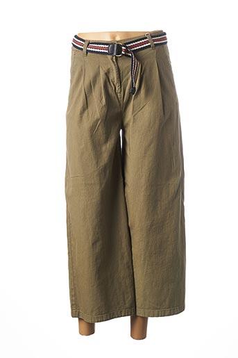 Pantalon 7/8 vert EDC BY ESPRIT pour femme