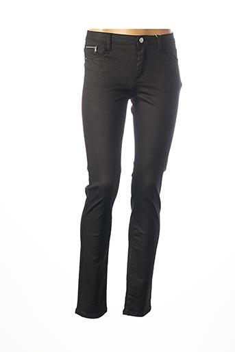 Pantalon casual noir C'EST BEAU LA VIE pour femme