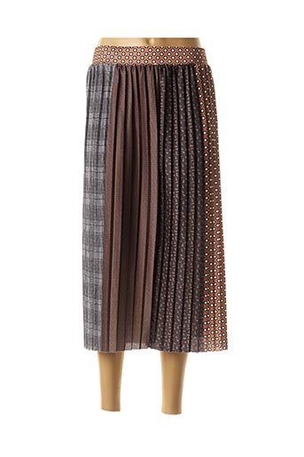 Jupon /Fond de robe marron BRANDTEX pour femme
