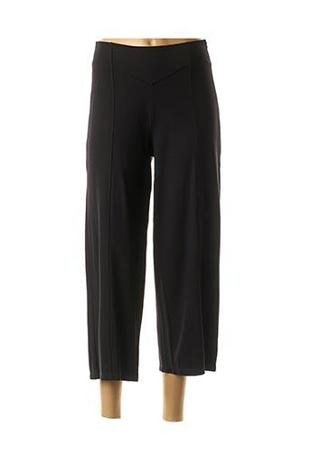 Pantalon 7/8 noir MALOKA pour femme