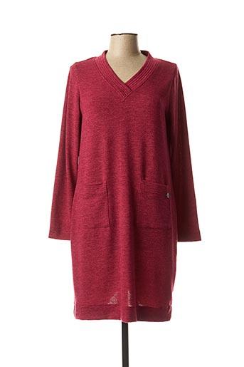 Robe pull violet MALOKA pour femme