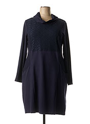 Robe mi-longue bleu MALOKA pour femme seconde vue